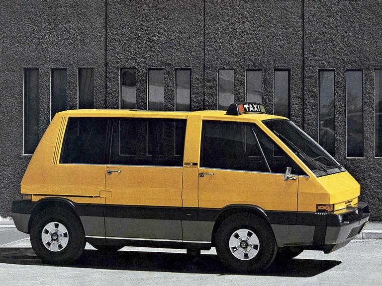 1976 Alfa Romeo New York Taxi concept by ItalDesign 284912