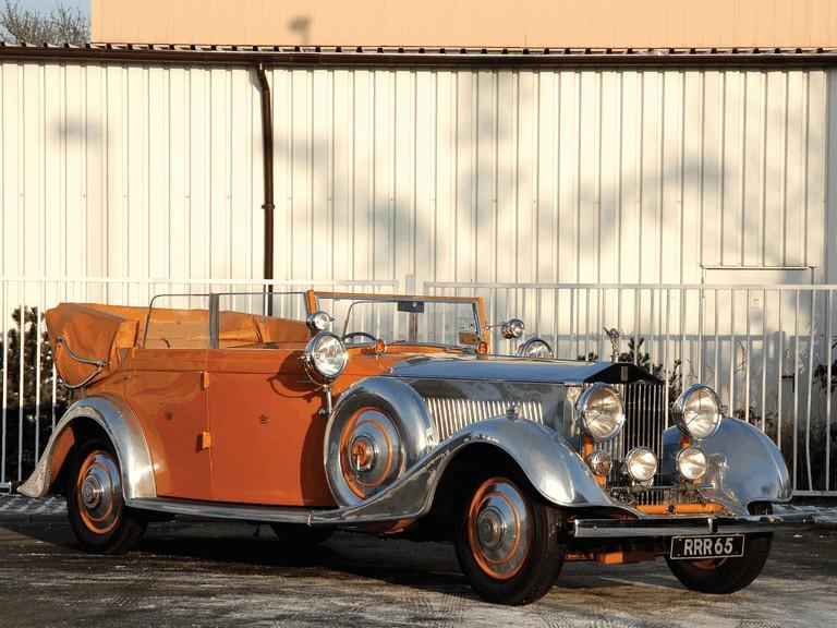 1934 Rolls-Royce Phantom 40-50 cabriolet - Star Of India II #285902
