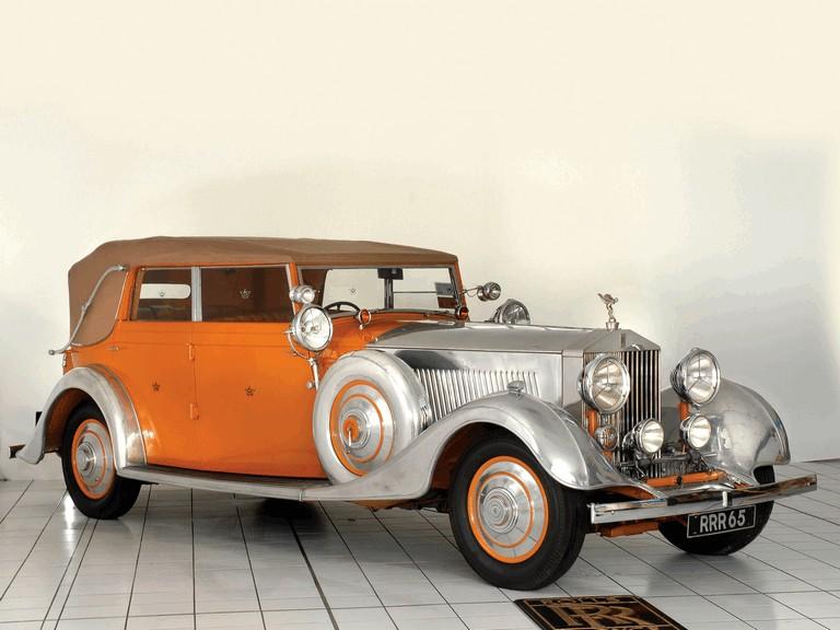 1934 Rolls-Royce Phantom 40-50 cabriolet - Star Of India II #285906