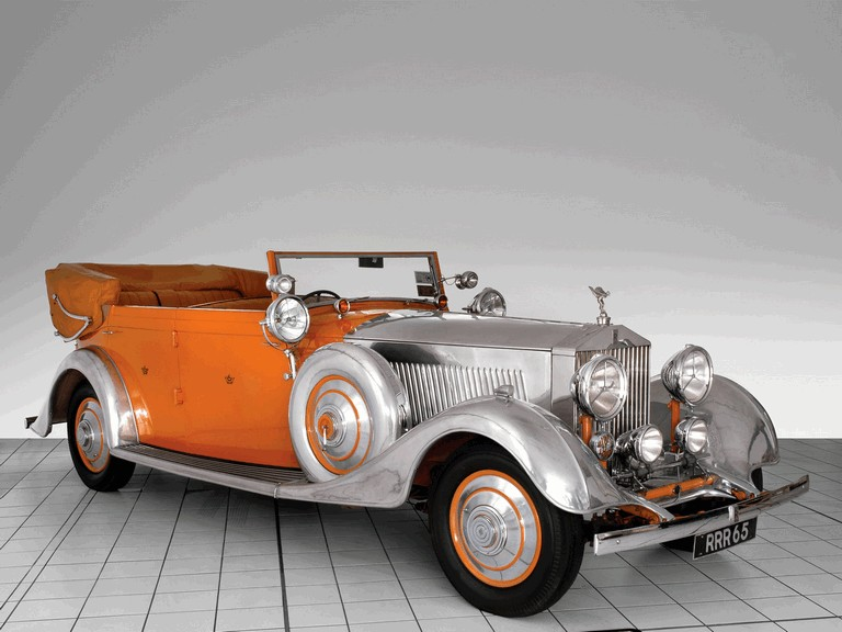 1934 Rolls-Royce Phantom 40-50 cabriolet - Star Of India II 285907