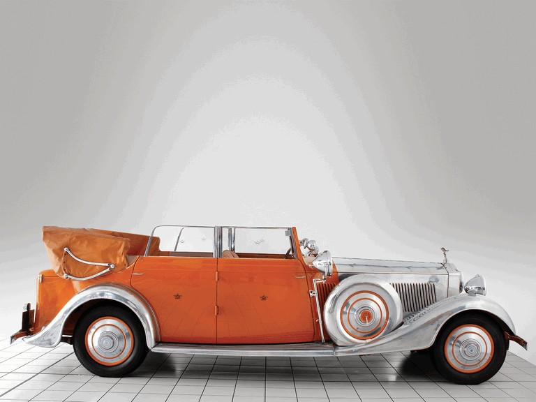 1934 Rolls-Royce Phantom 40-50 cabriolet - Star Of India II 285909