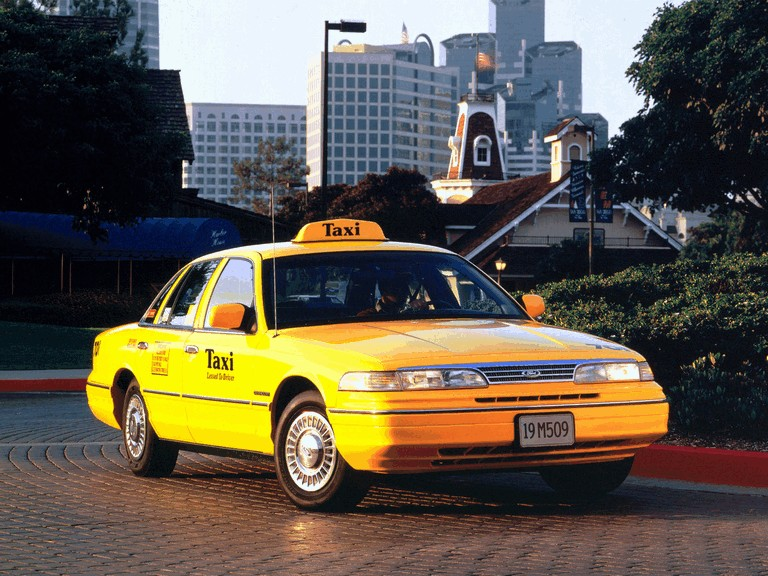 1993 Ford Crown Victoria Taxi 286491