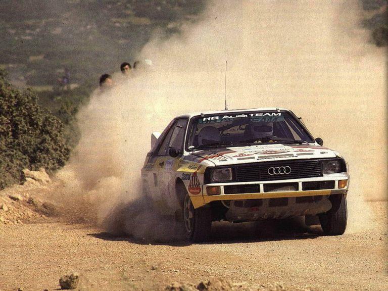 1984 Audi Sport Quattro Group B rally car 524336