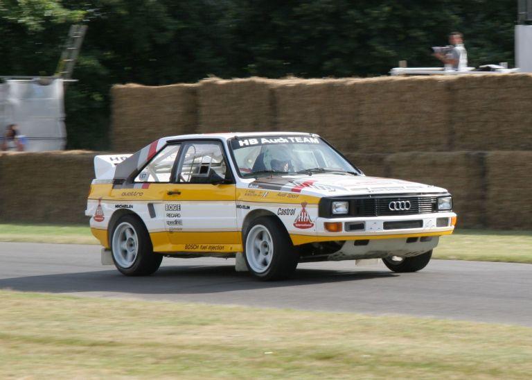 1984 Audi Sport Quattro Group B rally car 524339
