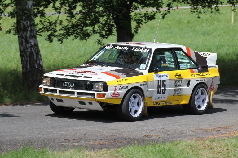 1984 Audi Sport Quattro Group B rally car 524343