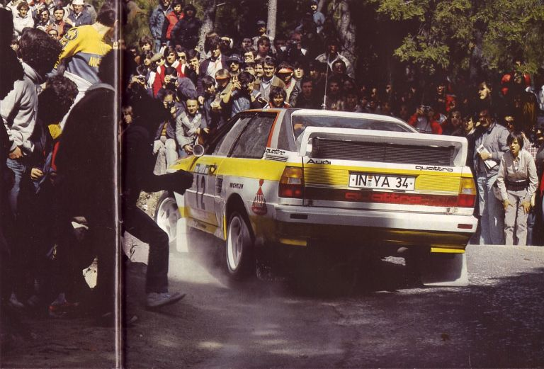 1984 Audi Sport Quattro Group B rally car 524347