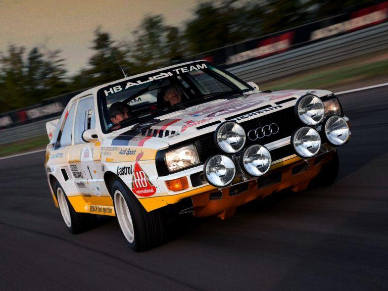 1984 Audi Sport Quattro Group B rally car 524349