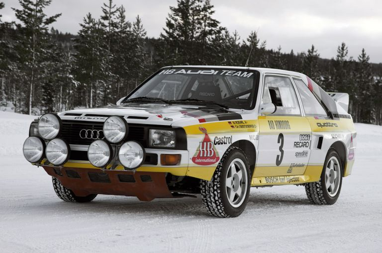 1984 Audi Sport Quattro Group B rally car 524351