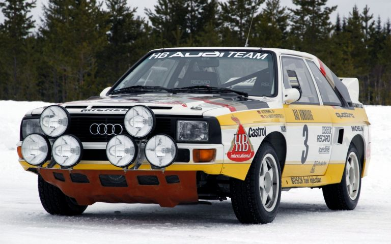 1984 Audi Sport Quattro Group B rally car 524352