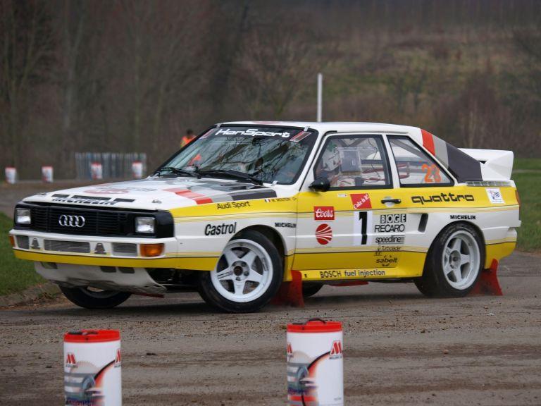 1984 Audi Sport Quattro Group B rally car 524355