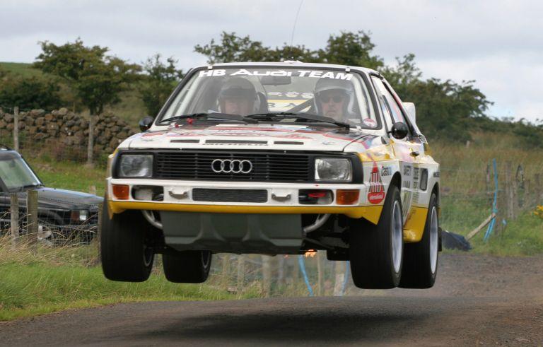 1984 Audi Sport Quattro Group B rally car 524358