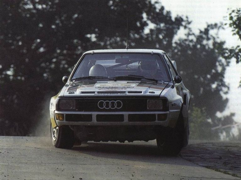 1984 Audi Sport Quattro Group B rally car 524361
