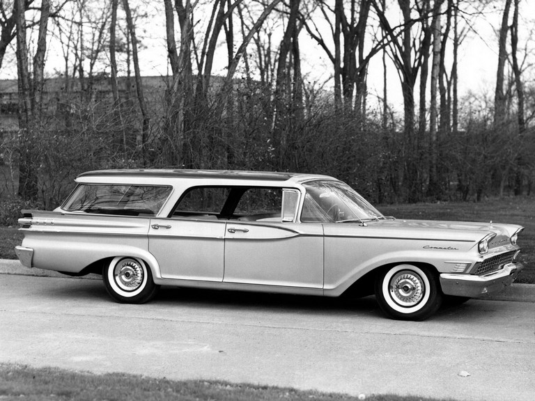 1959 Mercury Commuter Country Cruiser 290743