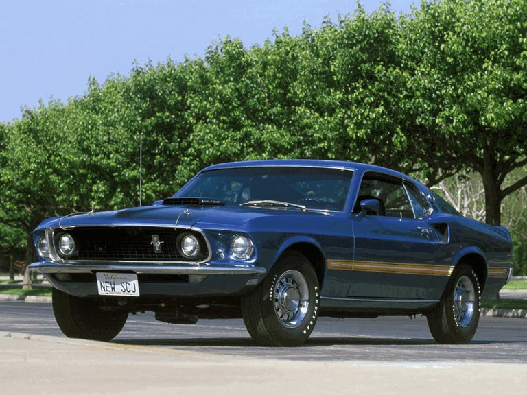 1969 Ford Mustang Mack 1 291008