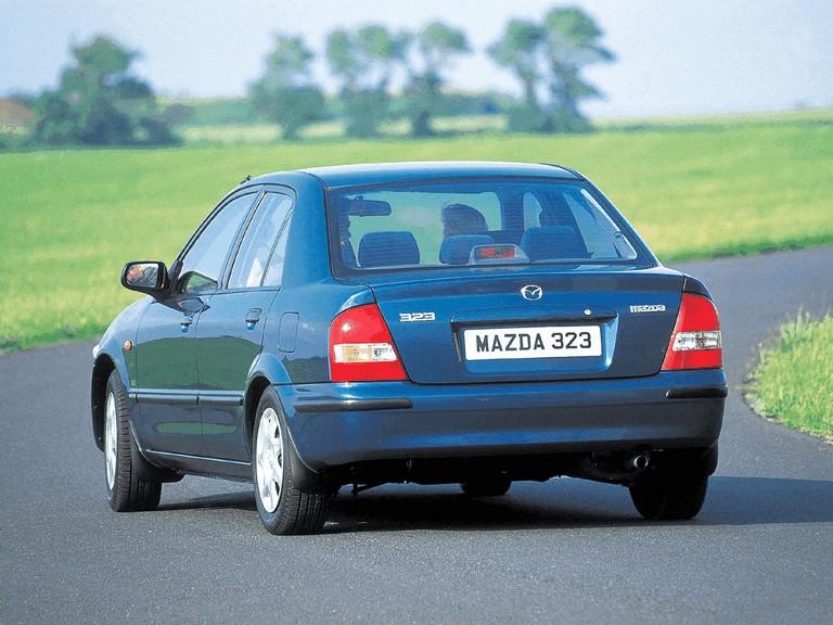 1998 Mazda 323 Sedan ( BJ ) 291399