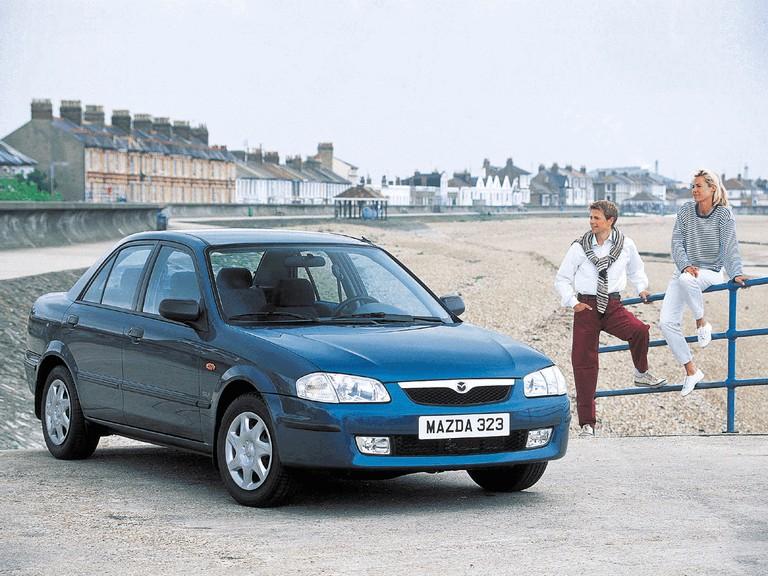 1998 Mazda 323 Sedan ( BJ ) 291400