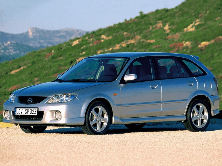 2000 Mazda 323 F ( BJ ) 291405