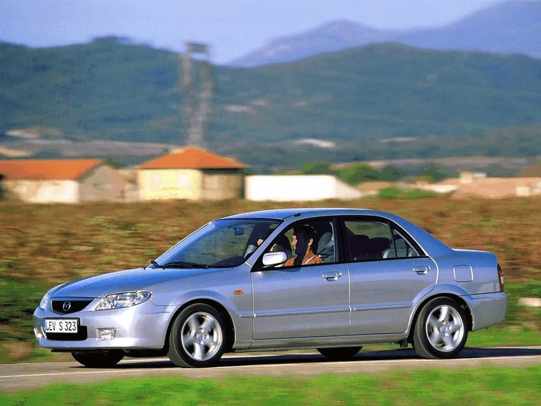 2000 Mazda 323 sedan ( BJ ) 291421