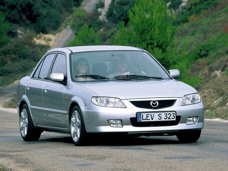 2000 Mazda 323 sedan ( BJ ) 291422