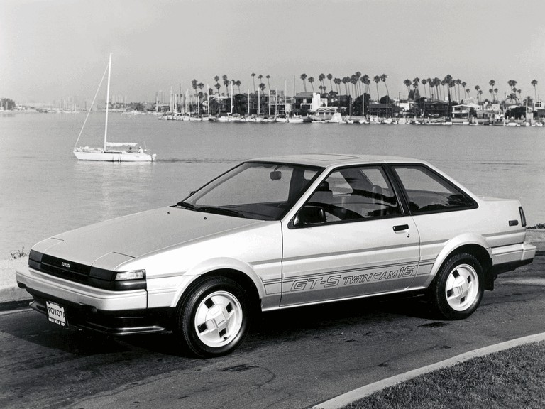 1985 Toyota Corolla GT-S sport coupé ( AE86 ) 291930