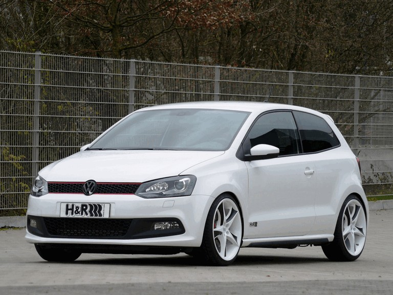 2010 Volkswagen Polo GTi by H&R 292683