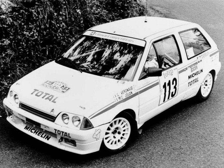 1987 Citroën AX Group A 292784