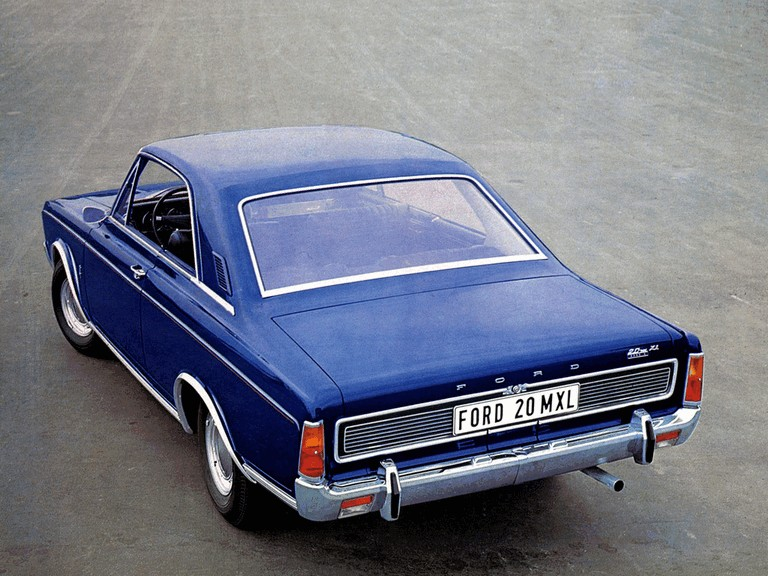 1968 Ford Taunus ( P7 ) coupé 295730