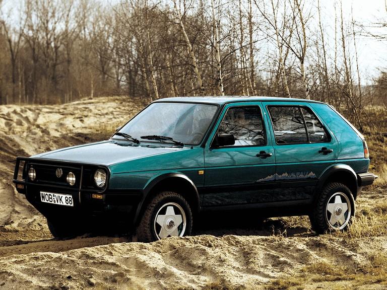 1990 Volkswagen Golf Country 295776