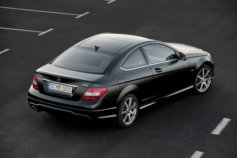 2011 Mercedes-Benz C-klasse coupé 297352