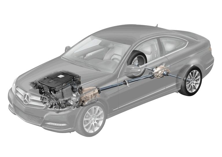 2011 Mercedes-Benz C-klasse coupé 297389