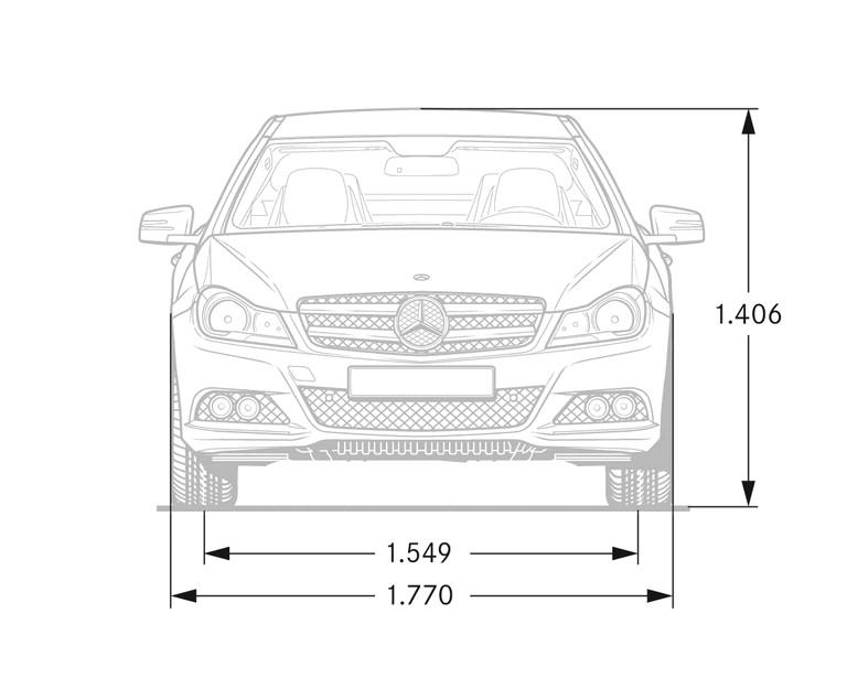 2011 Mercedes-Benz C-klasse coupé 297401