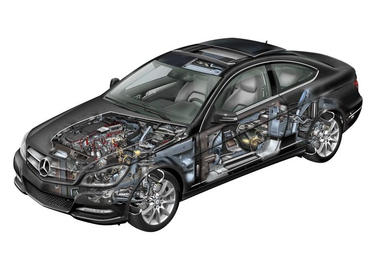 2011 Mercedes-Benz C-klasse coupé 297403
