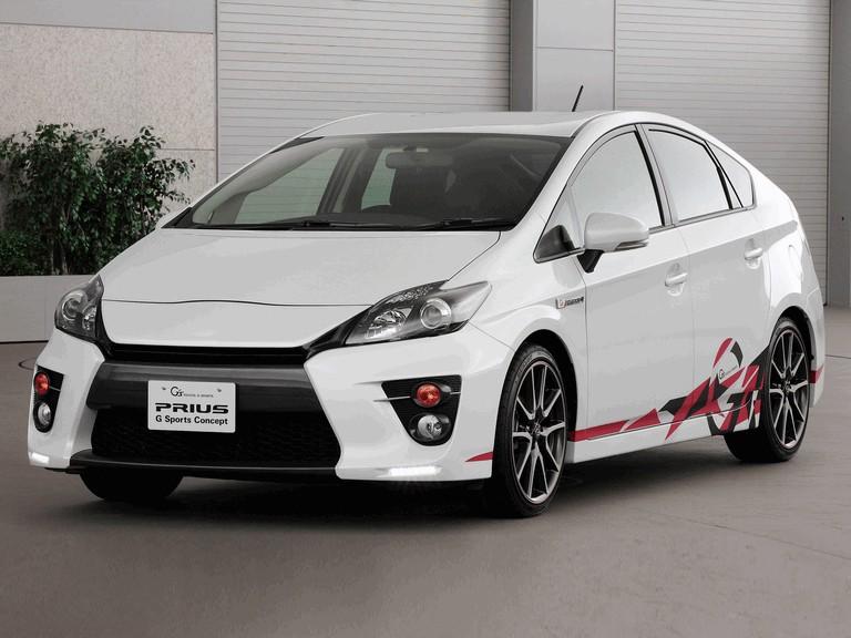2011 Toyota Prius G sports concept 297708
