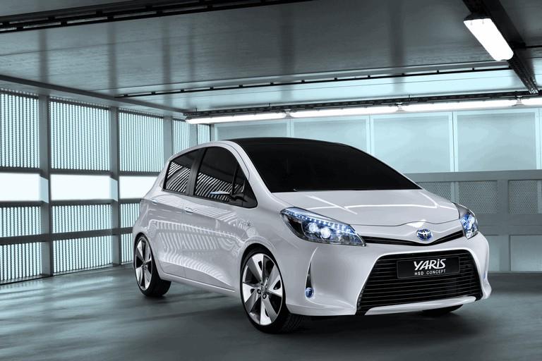 2011 Toyota Yaris HSD concept 297804