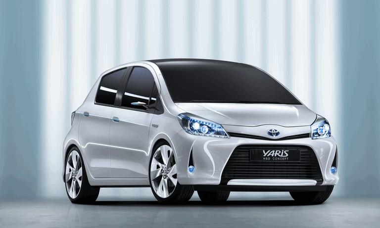 2011 Toyota Yaris HSD concept 297805