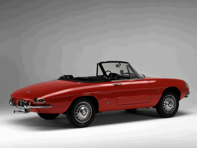 1966 Alfa Romeo Spider Duetto 301321