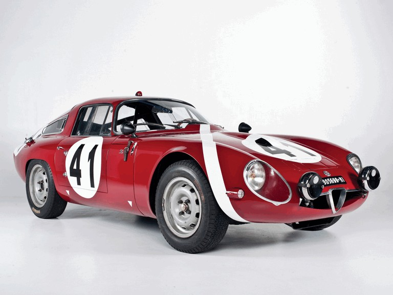1964 Alfa Romeo Giulia TZ coupé Le Mans 301888