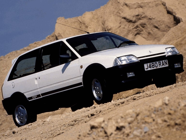 1990 Citroën AX GTi - UK version 302074