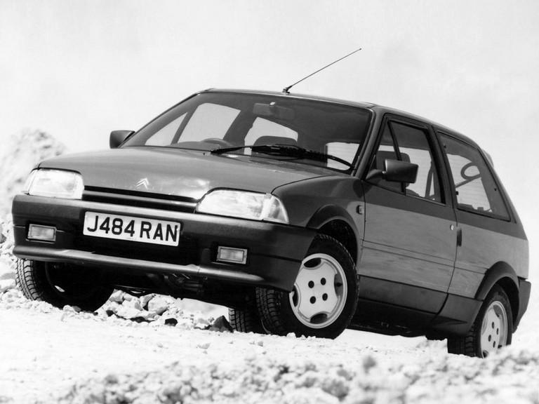 1990 Citroën AX GTi - UK version 302078