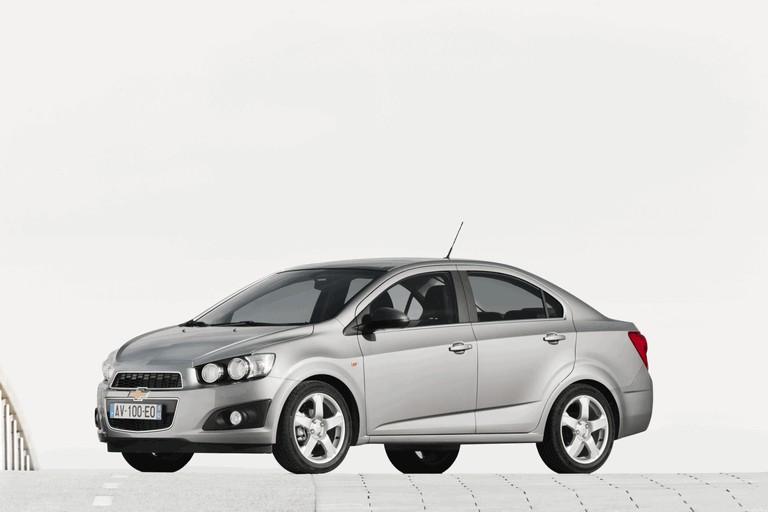 2011 Chevrolet Aveo Sedan Easypainting