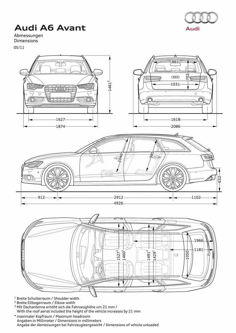 2011 Audi A6 Avant 3.0 TFSI S-Line 306944