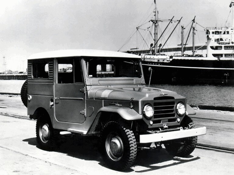 1956 Toyota Land Cruiser hardtop ( FJ25L ) 307193