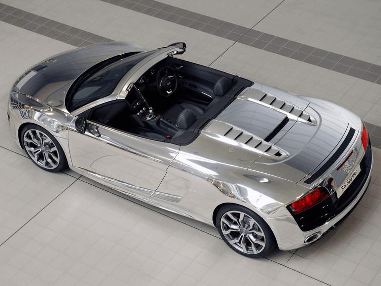2011 Audi R8 V10 spyder chrome - UK version 308024