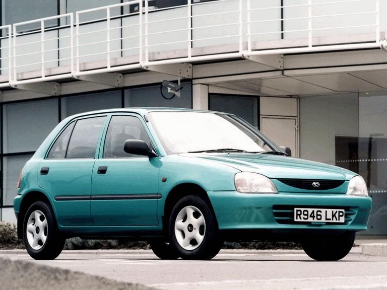 1996 Daihatsu Charade 5-door ( G203 ) - UK version - Free high