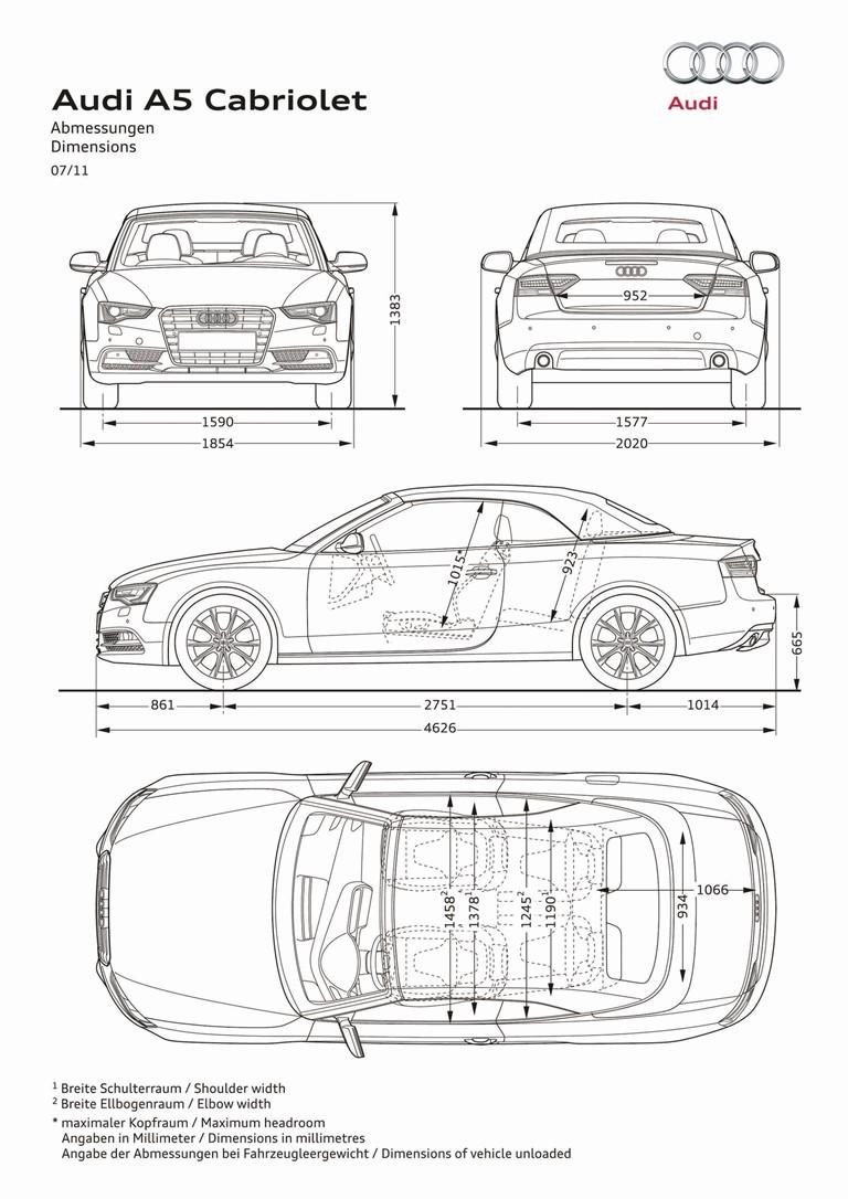 2011 Audi A5 cabriolet 309522