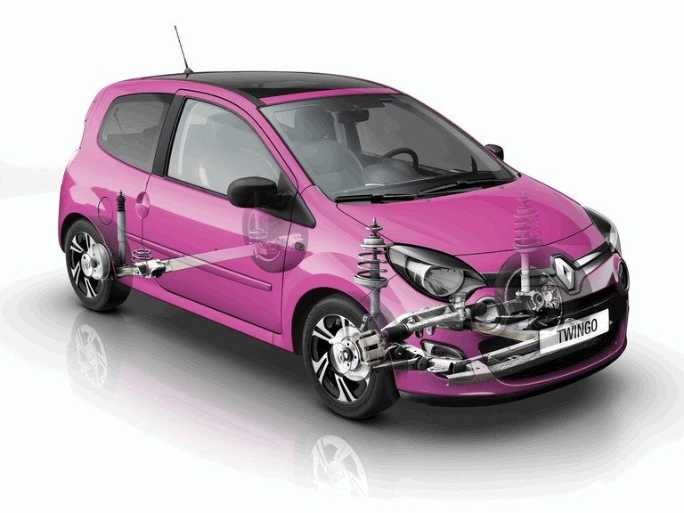 2011 Renault Twingo 324520