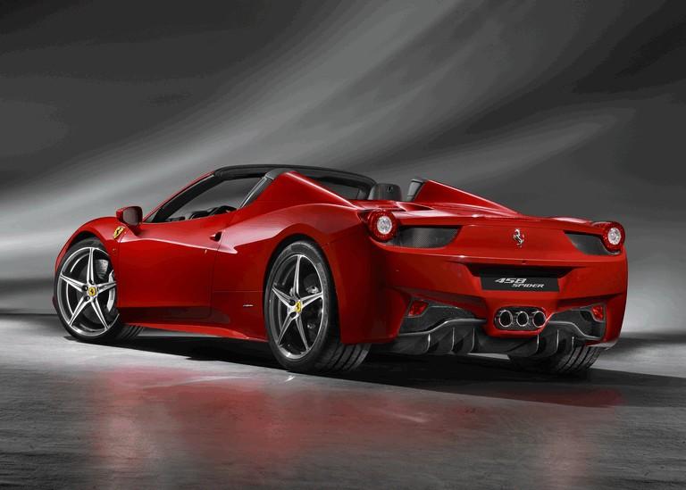 2011 Ferrari 458 Italia spider 336252