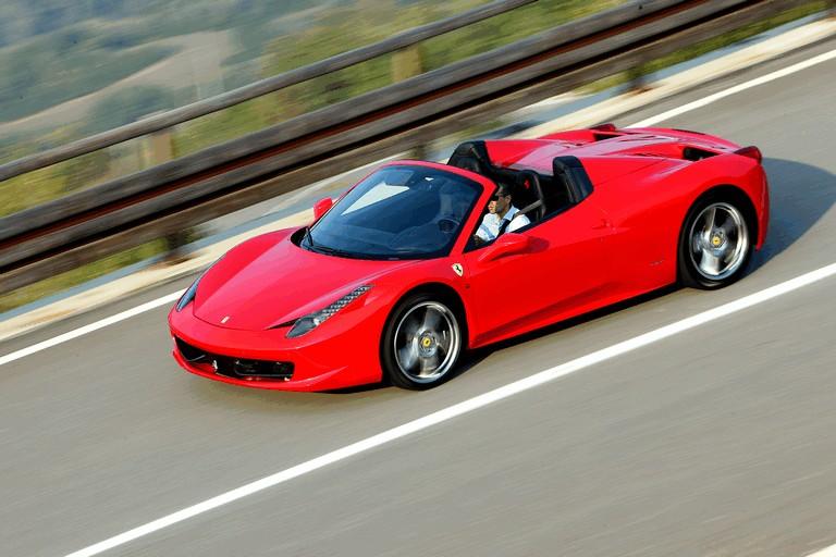 2011 Ferrari 458 Italia spider 336287
