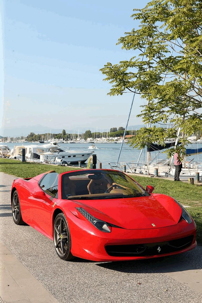 2011 Ferrari 458 Italia spider 336290