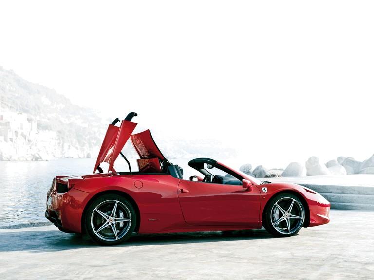 2011 Ferrari 458 Italia spider 336301